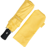 These umbrella's hardly take up any space in your luggage and are absolute lifesavers when you get caught up in a storm.