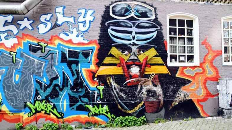 Street art guide Amsterdam: the 5 coolest street art spots
