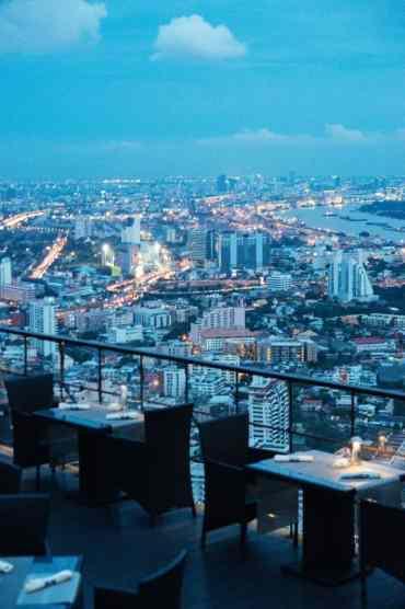BanyanTreeBangkok23 - Slapen met uitzicht op de skyline van Bangkok in Banyan Tree Hotel Bangkok