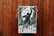 mondo king kong poster william stout