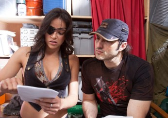Michelle and Robert Rodriguez