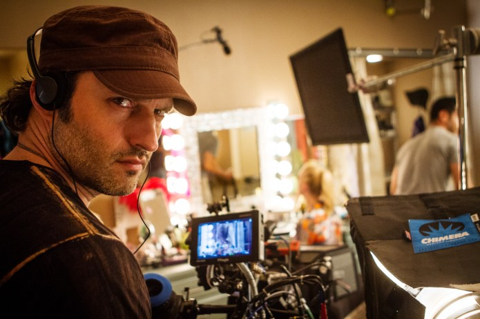 Robert Rodriguez Behind The Camera