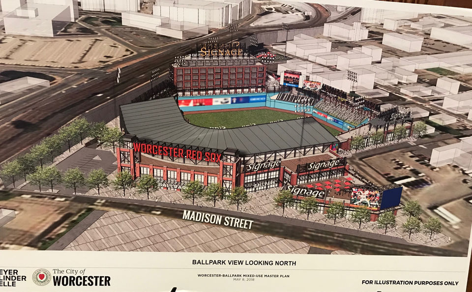 PawSox Moving To Worcester What The Stadium Could Look Like Where It Will Fit In The City