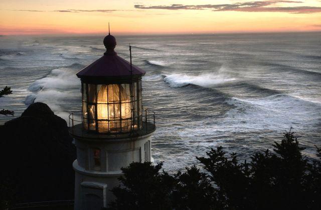 Image result for Heceta Head Lighthouse, Oregon: