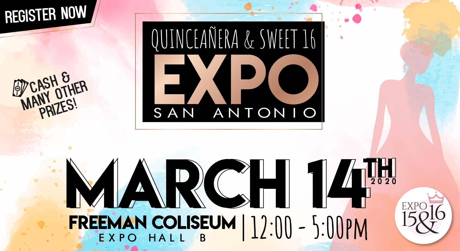 Flyer Expo Quinceanera San Antonio March 14th