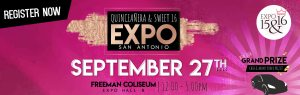 Expo Quinceanera September 27th 2020 flyer