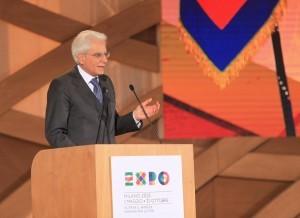 Il discorso di Mattarella a Expo 2015