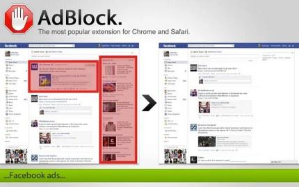 AdBlock ha particolare successo sul browser Google Chrome, ma anche Firefox e Safari ne rendono facile l'uso.