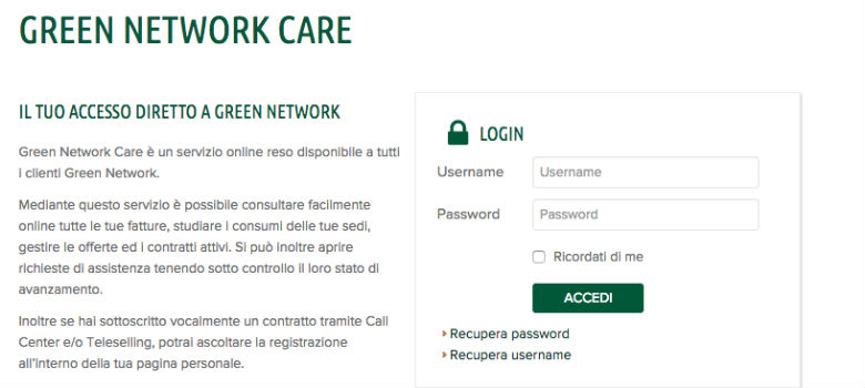 contratto-green-network-stipula-via-web