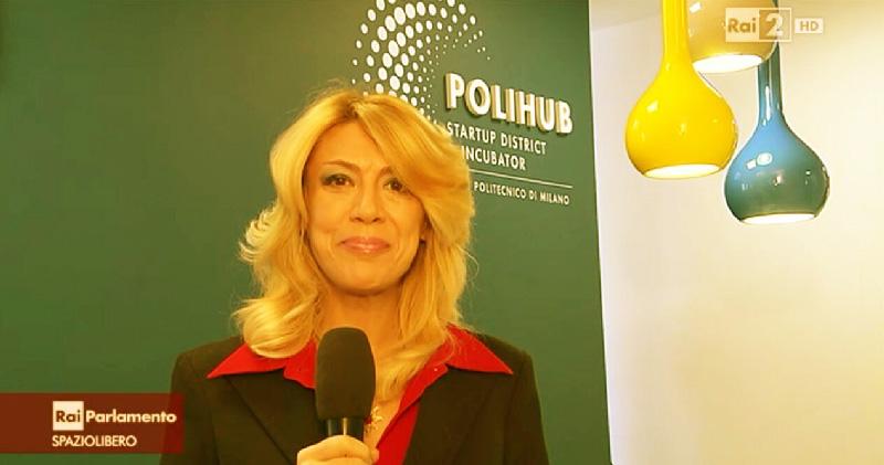 La giornalista Raffaella de Pascale per RAI Parlamento