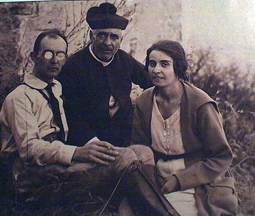 I genitori di Enrico Berlinguer