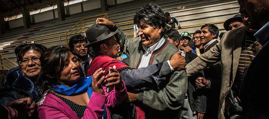 Morales, un membro degli indigeni Aymara