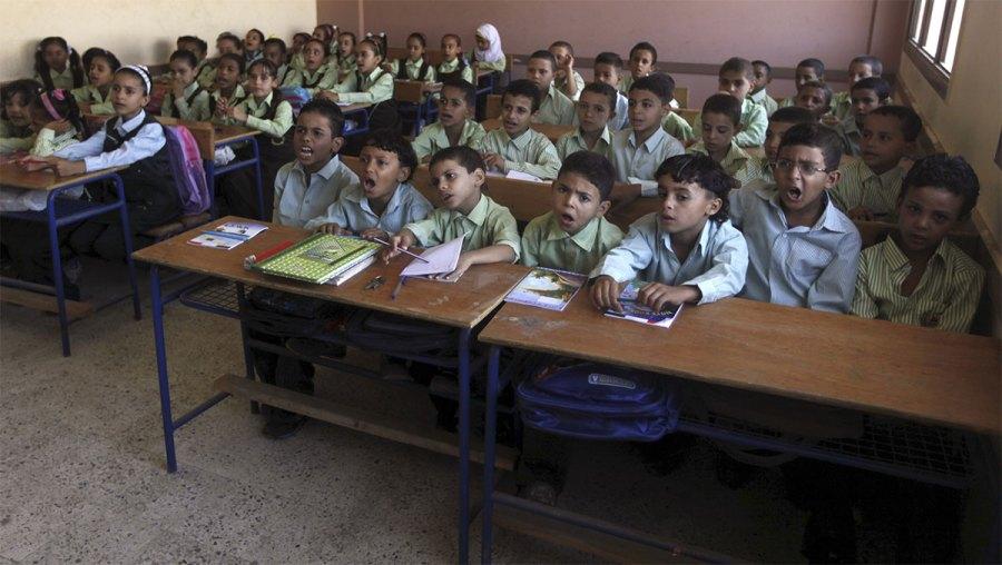 La scuola in Egitto