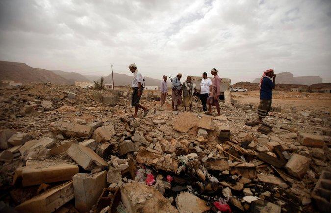 Drone-strike-rubble