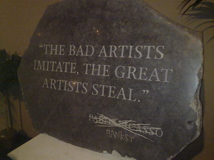 Great competitive strategy according to Banksy
