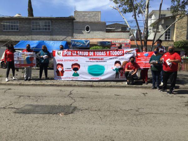 CROC, llega a Ecatepec con campaña «Por la salud de todas y todos»