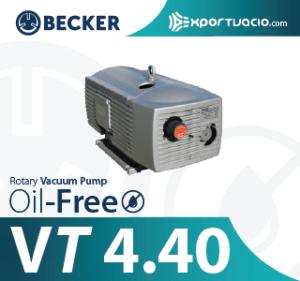 BECKER VT 4.40 VACUUM PUMP BOMBA DE VACIO