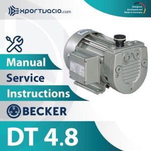 Becker DT 4.8 Manual