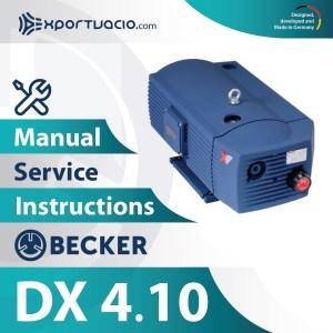 Becker DX 4.10 Manual