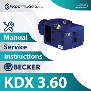 Becker KDX 3.60 Manual
