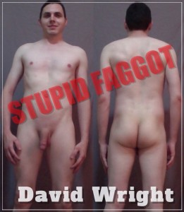 Faggot David Wright