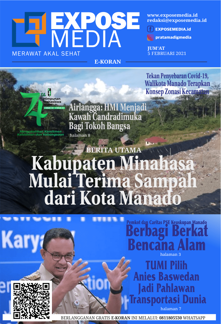 Edisi Jum'at, 5 Februari 2021