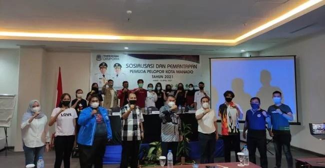 Pemkot Manado Gelar Sosialisasi dan Pemantapan Pemuda Pelopor 2021