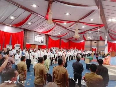 504 Ketua Lingkungan Resmi Dilantik, Ini Pesan Wali Kota Manado