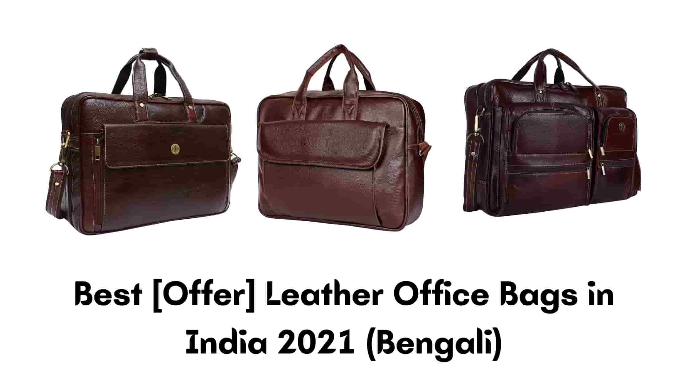Best [Offer] Leather Office Bags in India 2021 (Bengali)