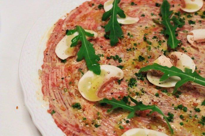 Carpaccio Piemontese recipe