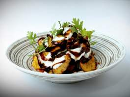 Eggplant Chaat recipe