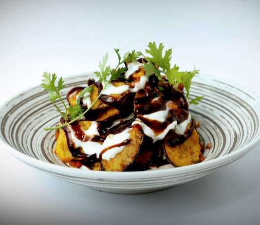 Eggplant Chaat recipe