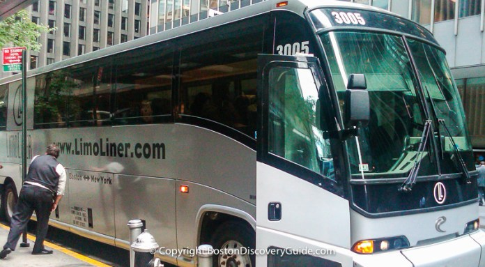 New York Bus-how to get around New York by bus