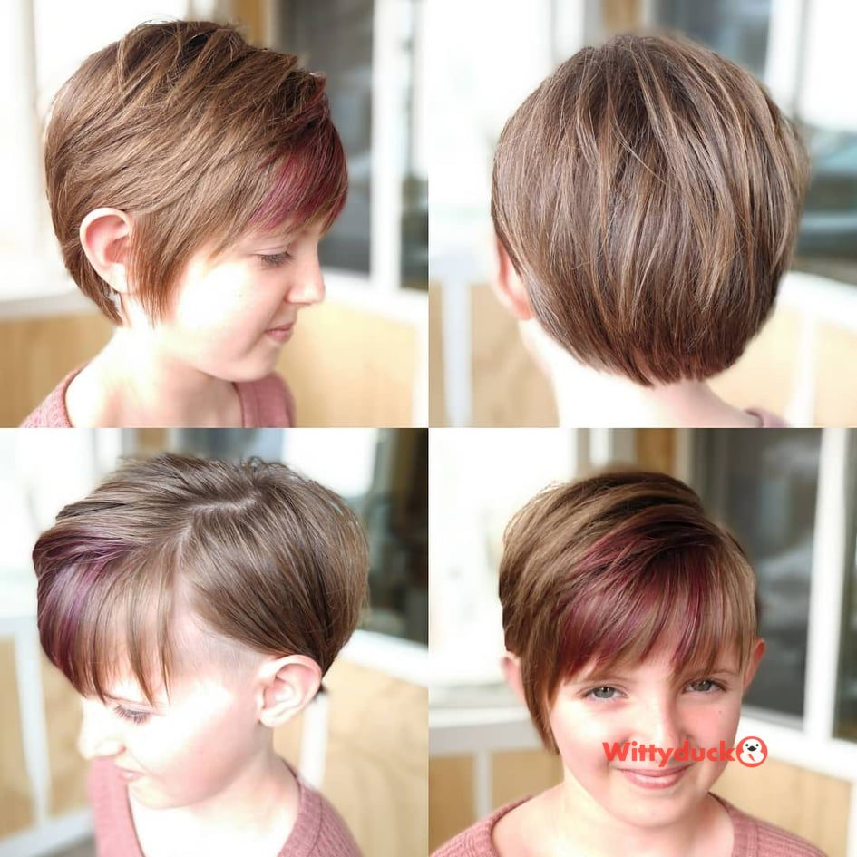 boy cuts for girls
