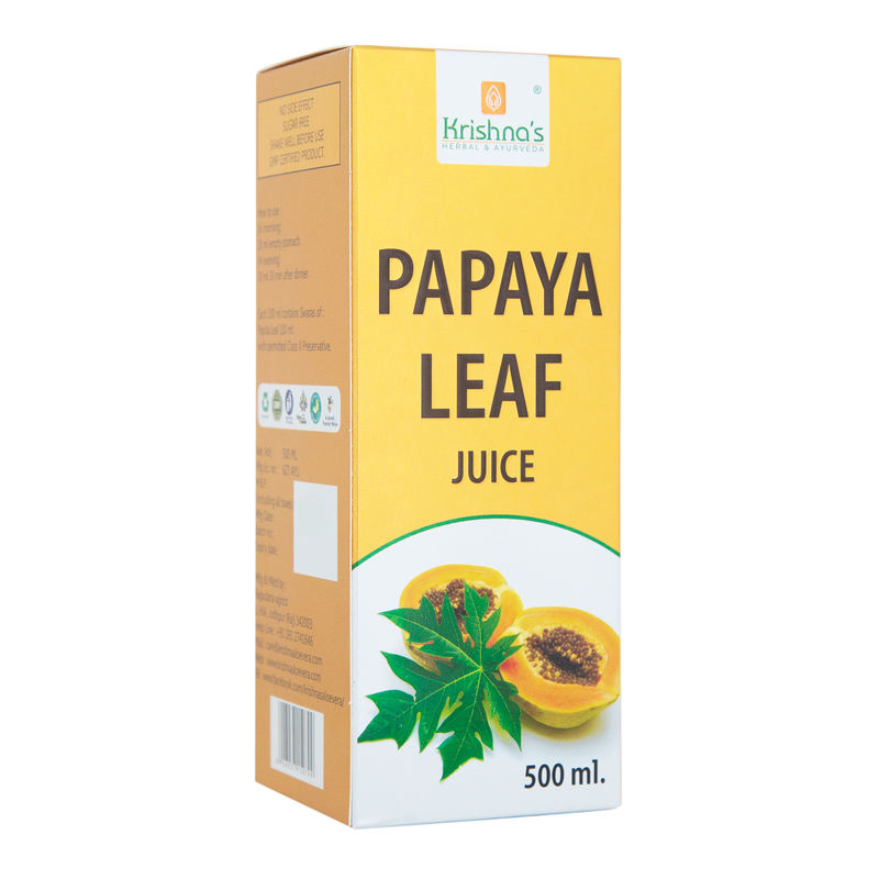 papaya leaf juice