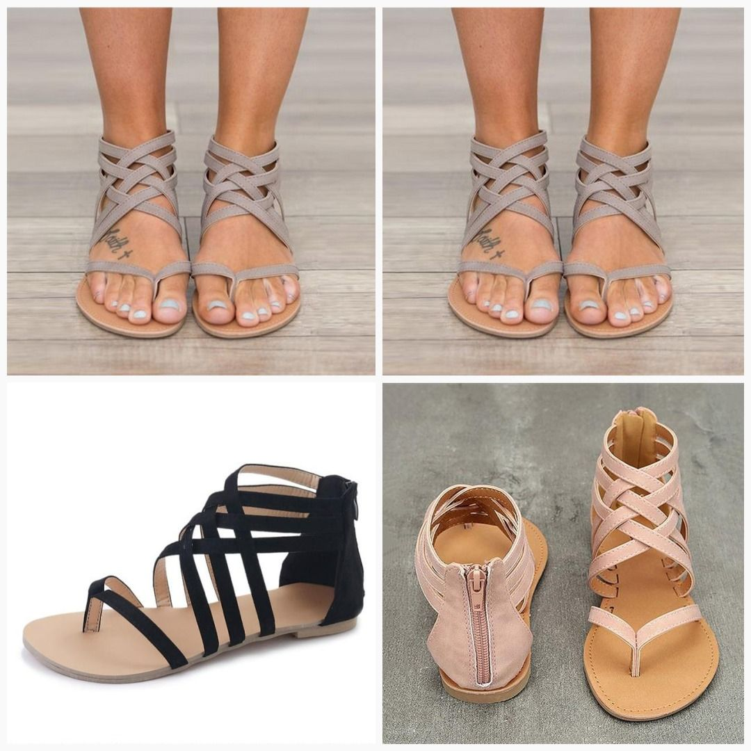 types of sandals with names and pictures