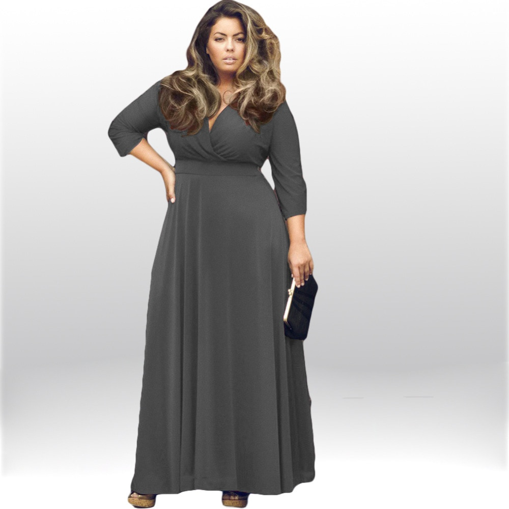 evening dresses for fat women