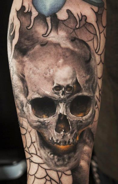 best skull tattoos
