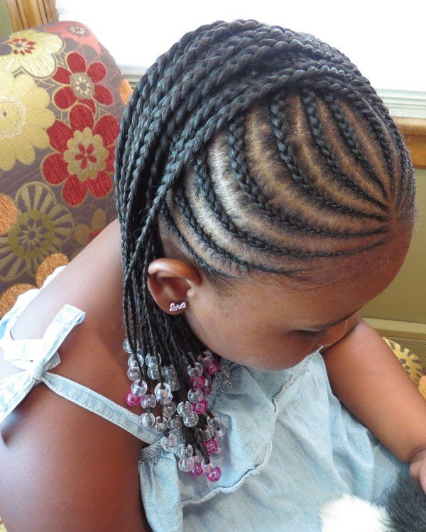 child braiding styles