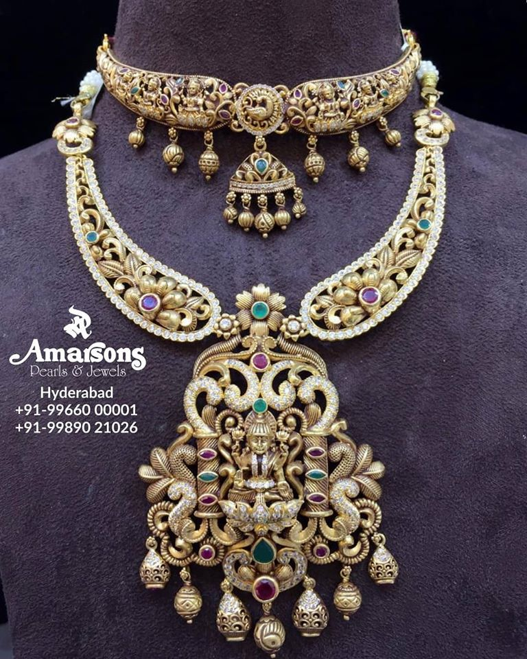 latest indian gold jewelry designs