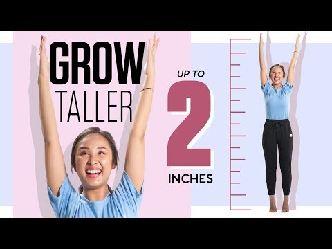 does stretching make you taller