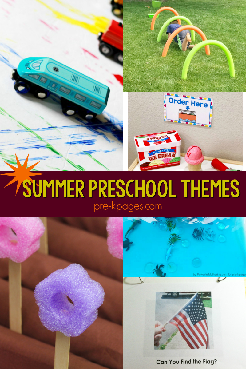 summer activities for preschooler