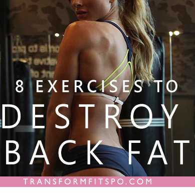 how to lose lower back fat
