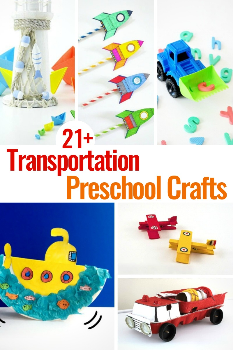 preschool transport theme