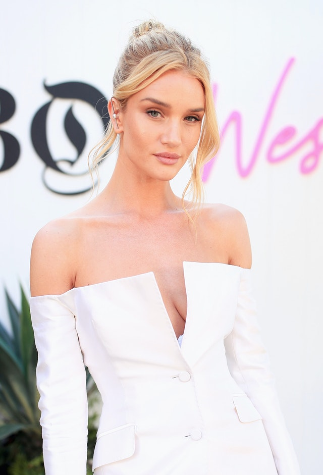 rosie huntington whiteley makeup