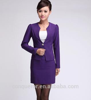ladies purple dress