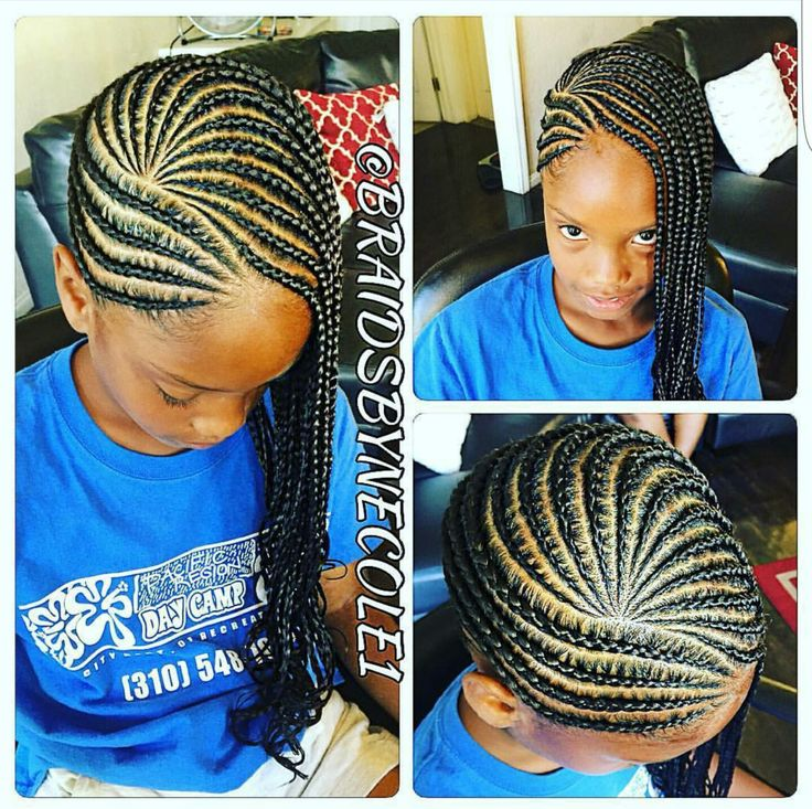 children braid styles