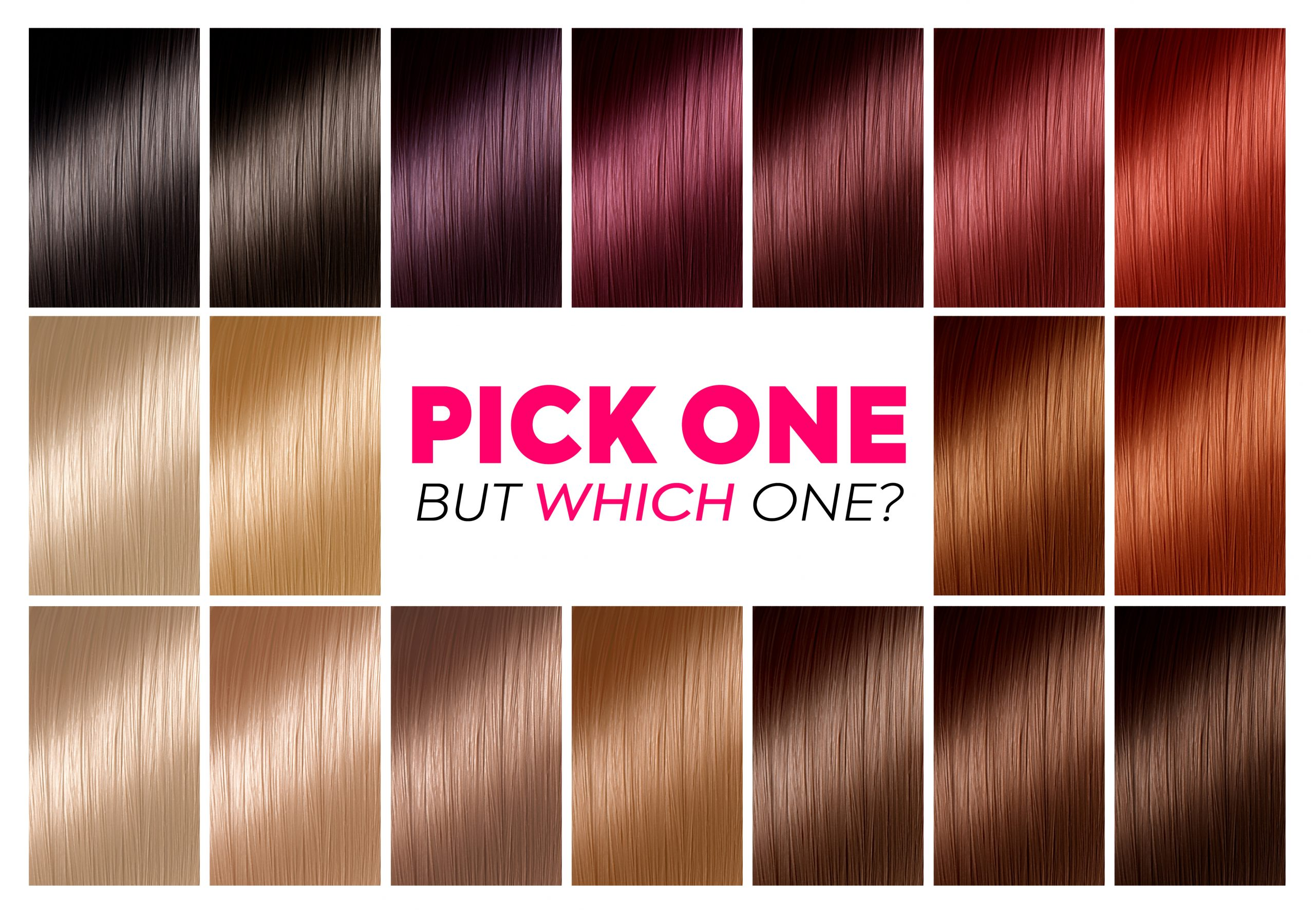burgundy hair color chart