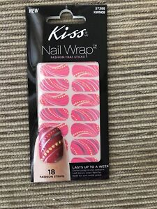 kiss nails stickers