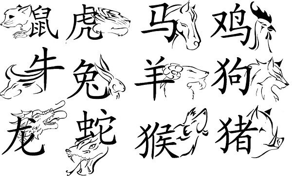 chinese tattoos designs
